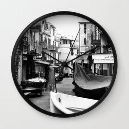 Cinque Terre Wall Clock
