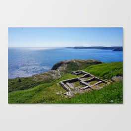 Strong Foundations Canvas Print