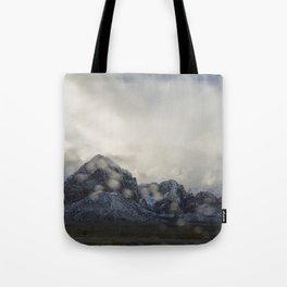 Snowy White Tote Bag