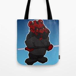 darth maul bear Tote Bag