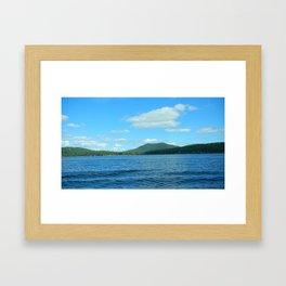 Adirondacks- Schroon Lake Framed Art Print