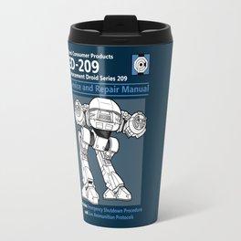 ED-209 Service and Repair Manual Travel Mug
