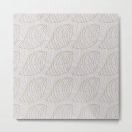 Tessellating Nature Metal Print