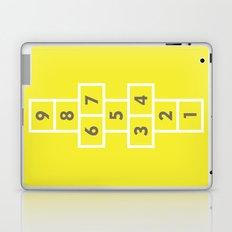 Hopscotch Yellow Laptop & iPad Skin