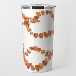 beads with amber Travel Mug