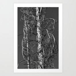 One Dead Tree Art Print