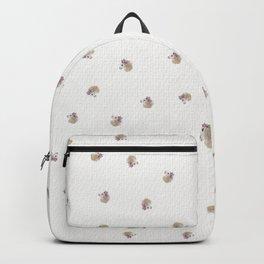 Baby Alpaca with Flower Crown Backpack