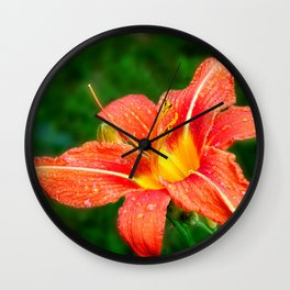 Beautiful flower Wall Clock