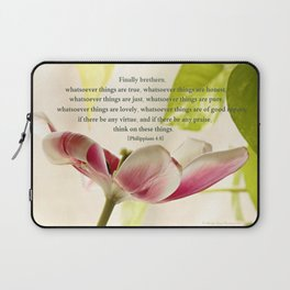 Whatsoever Things Are True Laptop Sleeve