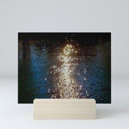 still waters Mini Art Print