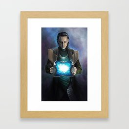 Loki #2 Framed Art Print