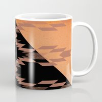 mexico Mugs featuring Mexico by Laura Santeler