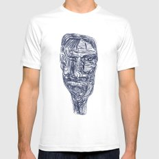2011 d White MEDIUM Mens Fitted Tee