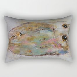 Owl Painting Rectangular Pillow
