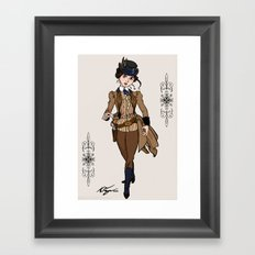 Evelyn Hayes Framed Art Print