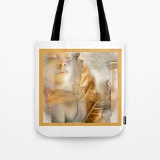 rebirth / digital painting / wacom brushwork / & photo filtering Tote Bag