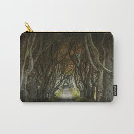 Dark Hedges alley in northern Ireland Carry-All Pouch