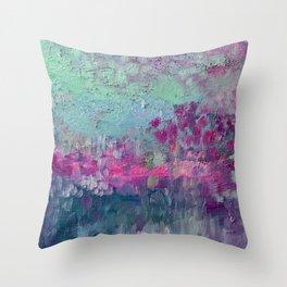 Magic Ice  Throw Pillow