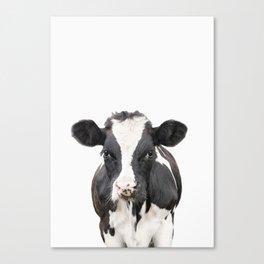 Cow Art Canvas Print
