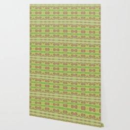 Green beige abstract Wallpaper