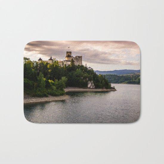 Dunajec Castle In Niedzica Bath Mat