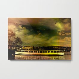 Lake Zurich in Color Metal Print