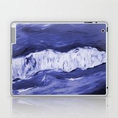 Paint 6 abstract water ocean arctic iceberg nature ocean sea abstract art drip waterfall minimal  Laptop & iPad Skin