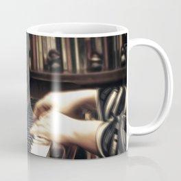 Music. The piano lesson. Coffee Mug