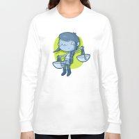 libra Long Sleeve T-shirts featuring Libra by Chiara Zava
