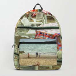 Cafe on the Beach Backpack