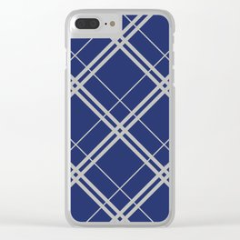 Ravenclaw Argyle Clear iPhone Case