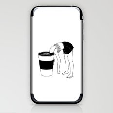 Coffee, First iPhone & iPod Skin
