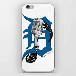 Detroit Music iPhone Skin