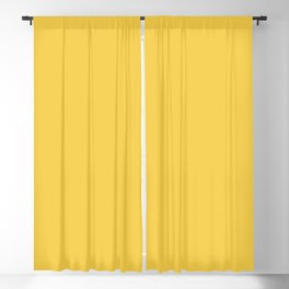 Pratt and Lambert 2019 Ale Yellow 12-9 Solid Color Blackout Curtain