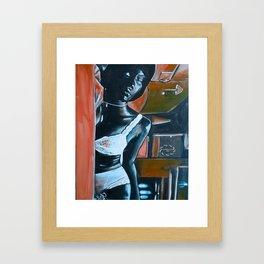 """""""KEISHA"""" Framed Art Print"""