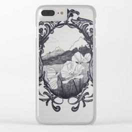 Romanticized Clear iPhone Case