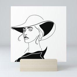 Stephanie Germanotta Mini Art Print