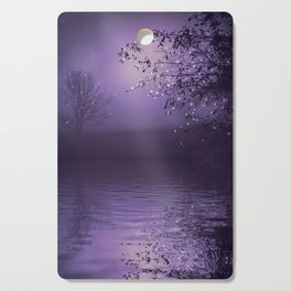 SONG OF THE NIGHTBIRD - LAVENDER Cutting Board