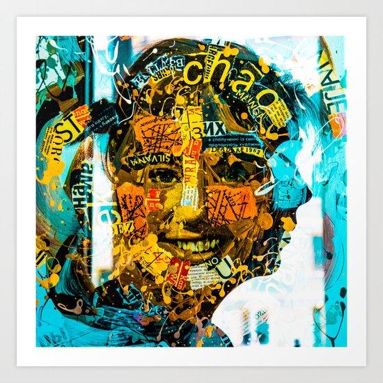 face to face Art Print