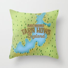 Tarn Hows, Lake District National Park, England Throw Pillow