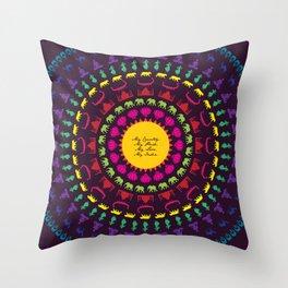 My India.  Throw Pillow