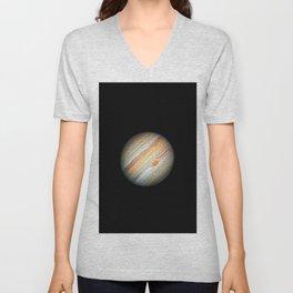 Nasa Picture 8: Jupiter Unisex V-Neck