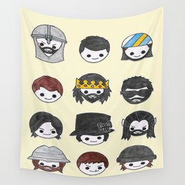 Some More Plushie Richies Wall Tapestry