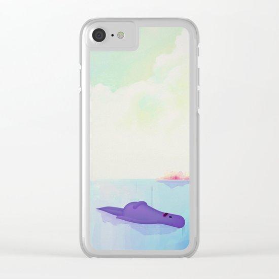 a g a l l a Clear iPhone Case