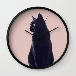 HER MAJESTY (mauve) Wall Clock