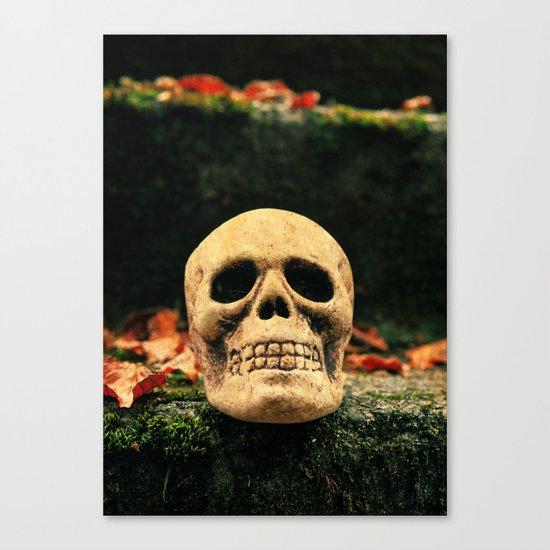 Stairway skull Canvas Print
