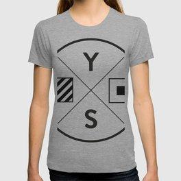 YS Logo - Black Outline T-shirt