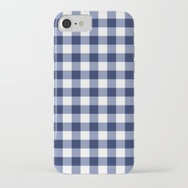 Gingham iPhone Case