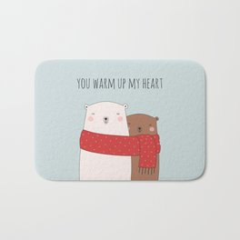 BEAR LOVE Bath Mat