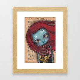 Something In The Wind Framed Art Print